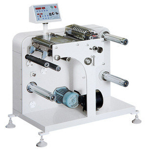 320/420 Label Paper Slitter Rewinder Machine with Magnetic Brake and Clutch