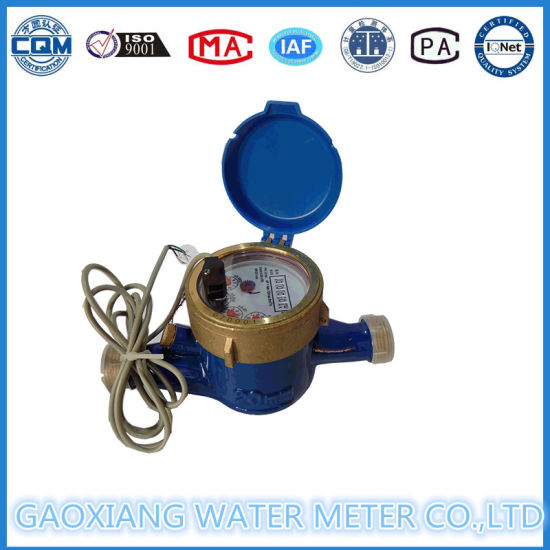 Multi Jet Reed Switch Data Transmission Water Meters Dn15-Dn25 pictures & photos