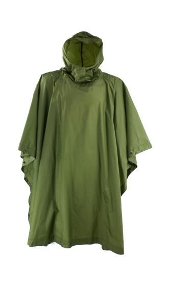 Military Army Police Waterproof Camo Poncho
