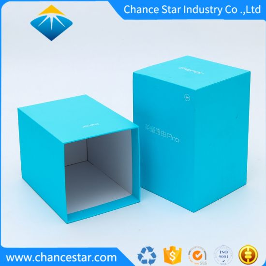 Custom Printed Paper Cardboard Gift Packing Box for Product