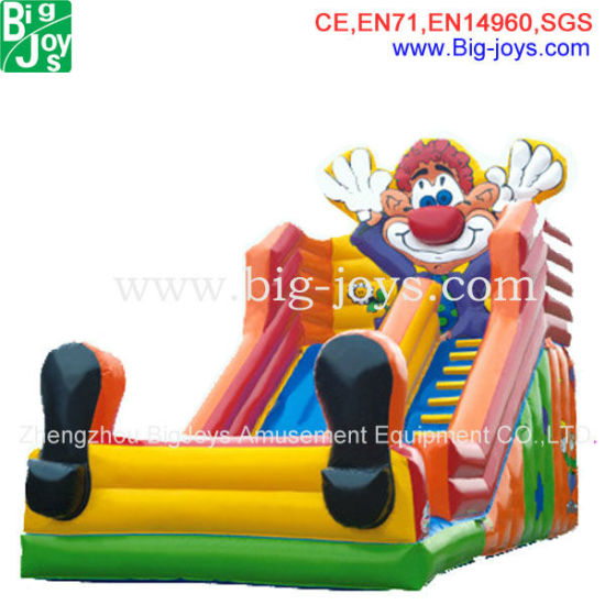 Inflatable Combo Water Slide with Bounce House for Sale (DJWSMD800008) pictures & photos