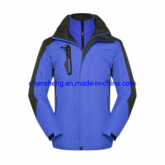 Windproof Disassemble Softshell Jacket for Outdoor Wear Camping&Hiking Windbreaker Screen Printing