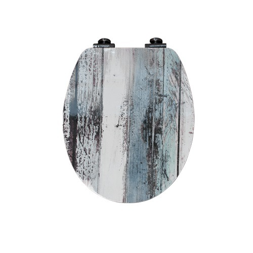 Hot Sales Image Printed Color MDF Adult Soft Toilet Seats