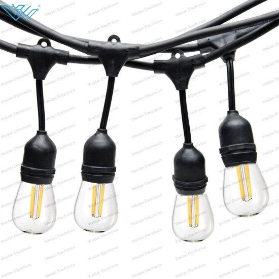 China 12 Volt Led Outdoor String Lights