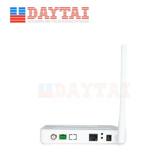 1ge WiFi+CATV Sf RF Gpon ONU with Wdm Fiber Optic Network Router