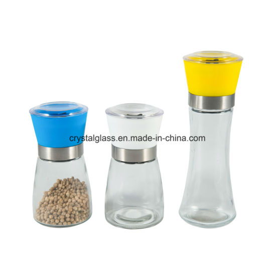 Amazon Stainless Steel Salt and Pepper Grinder Set