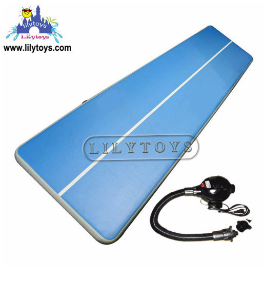 Factory Price Inflatable Yoga Mat Water Sport Inflatable Floating Yoga Mats Fitness Mat pictures & photos