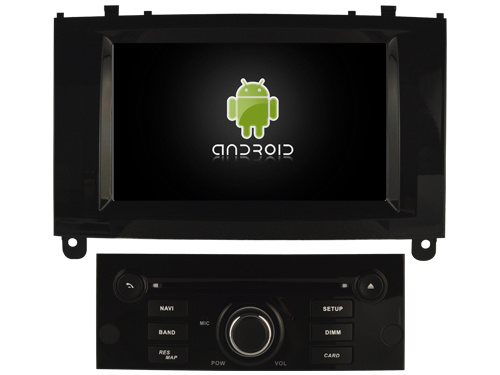 China Witson Quad-Core Android 9 1 Car DVD GPS for Peugeot 407