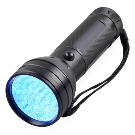 1pcs 21LED UV 395nm Flashlight Torch Lamp Bright For Checking Fluorescent Inks