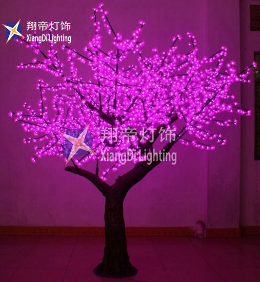 China 2 5m Whole White Led Cherry Blossom Tree Light For