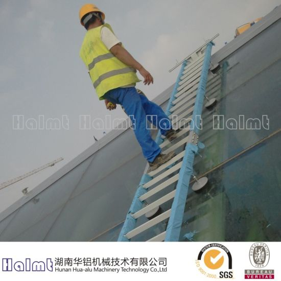 China Factory Roof Aluminium Walkway for Industry - China