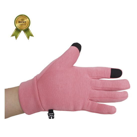 Gloves Female Winter Artificial Rabbit Hair Wrist Mouth Keep Warm Gloves Outdoor Riding Touch Screen Gloves