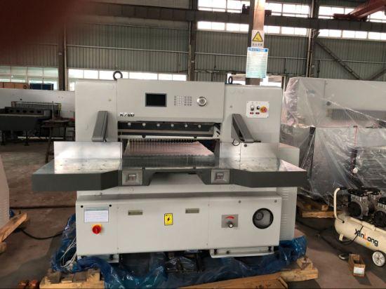 Paper Guillotine Single Hydraulic Series A4 A3 Paper Cutting Machine (QZK780D-7)