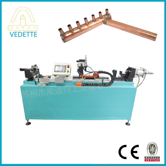 Copper Tubes Needle Punching Machine for Cooling System
