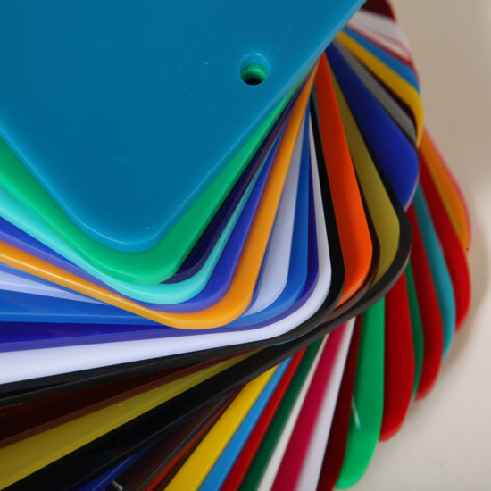 China Different Colors of Cast Acrylic Sheet for Lightbox - China ...