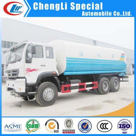 Sinotruk HOWO Carbon Steel 18000liters Tanker Sprinkler Mulifunction Water Truck