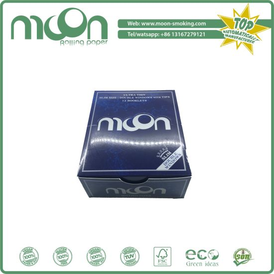 Same Quality with Smoking/ Offer OEM 13 GSM Mixed Flax and 14 GSM Rice Rolling Papers