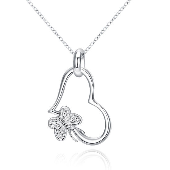 High Quality Pure Fashion Popular Beautiful Butterfly Heart