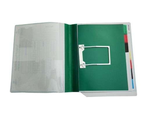 Custom Wholesale Low Price PP Plastic A4 Medical Record File Folder Supplier for Arab Middle East pictures & photos