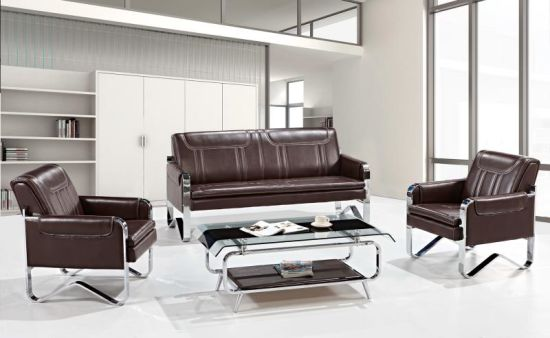 Factory Wholesale Best-Selling Modern Leather Patent Office Sofa 681#