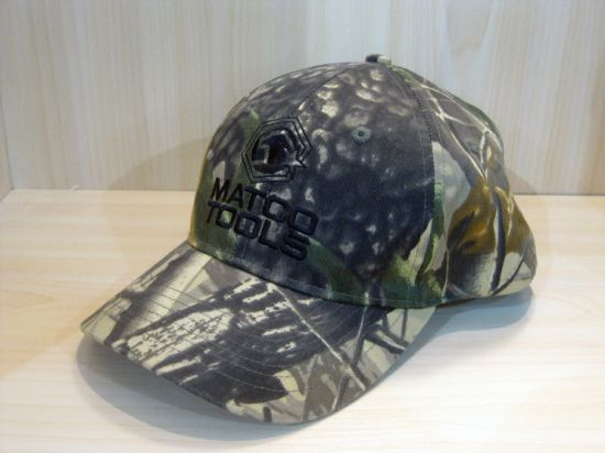 Professional Custom High Quality Camouflage Cap
