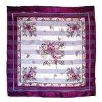100% Pure Printing Satin Silk Ladies Scarf