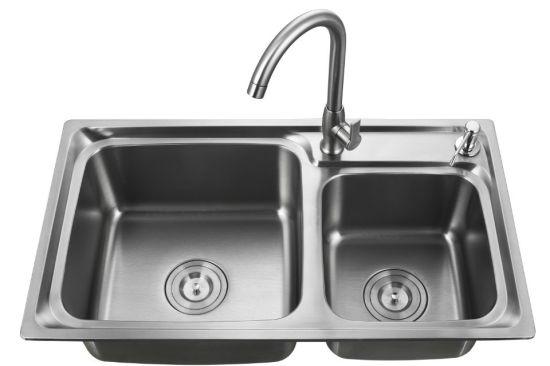 Hot Sale Handmade Kitchen Sink Wash Stainless Steel