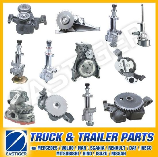 Over 200 Items Oil Pump Truck Parts