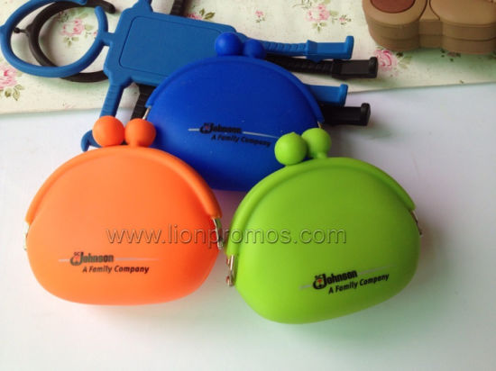 Sc Johnson Promotional Gift Silicone Coin Purse pictures & photos