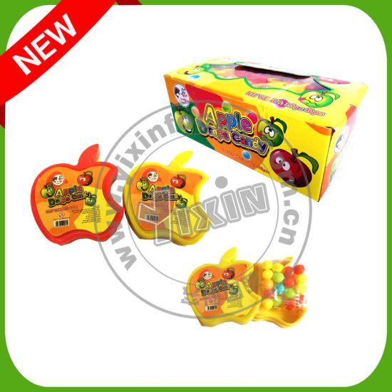 Halal Apple Shape Compressed Candy