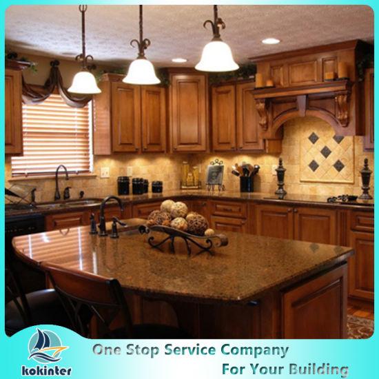 North American Standard Luxury Solid Wood Kitchen Cabinet