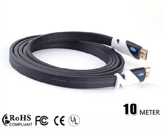 China Best Price 1080P 4K 1 4V 2 0V HDMI Flat Cable for