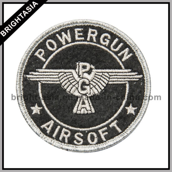 Wholesale Custom Embroidered Patch Police (BYH-10773)