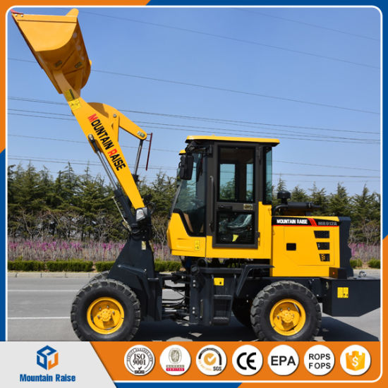 China Mini Loader 1 Ton Wheel Loader Front End Loader Zl10 Ce/ISO Earth-Moving Machine pictures & photos