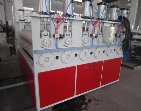 PVC Crust Board Extruding Production Line pictures & photos