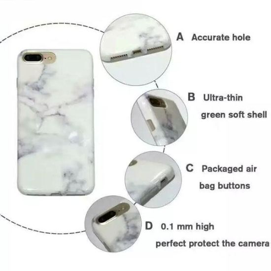 Marble Rock Stone Design iPhone Case Cover for iPhone 7 pictures & photos