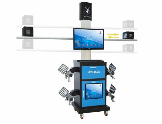 Customized Auto Shop 3HD Cameras portable 3D Wheel Alignment