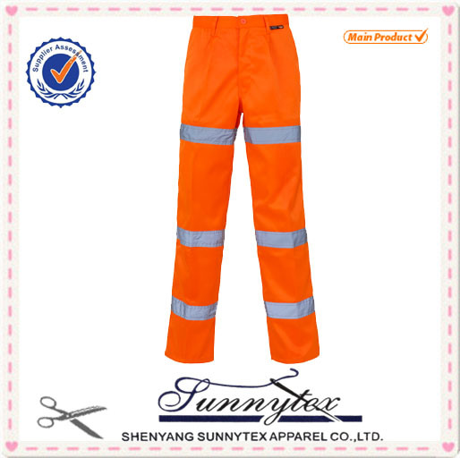 High Visibility Reflective Cargo Trousers for Wholesale