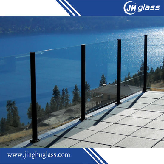 3-19mm Clear Float Tempered Glass Toughened Glass for Railing