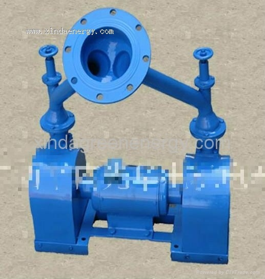 300W-15kw Dual Wheel Impact Type Hydraulic Turbine Generator for Home Use pictures & photos