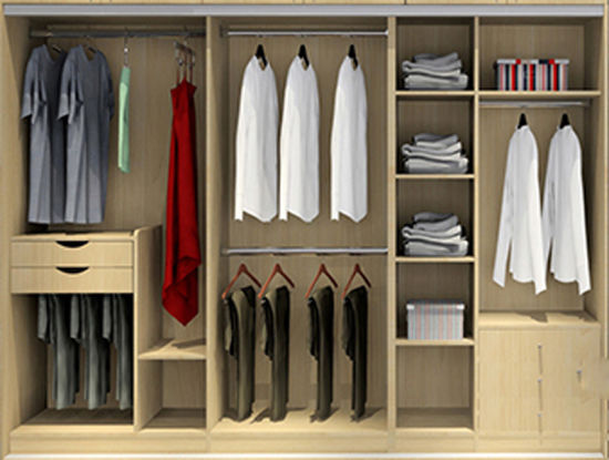 Modular Closet Of Modern Design Bedroom Furniture Br 30 E