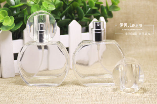China Round Crystal Perfume Glass Bottles for Fragrance
