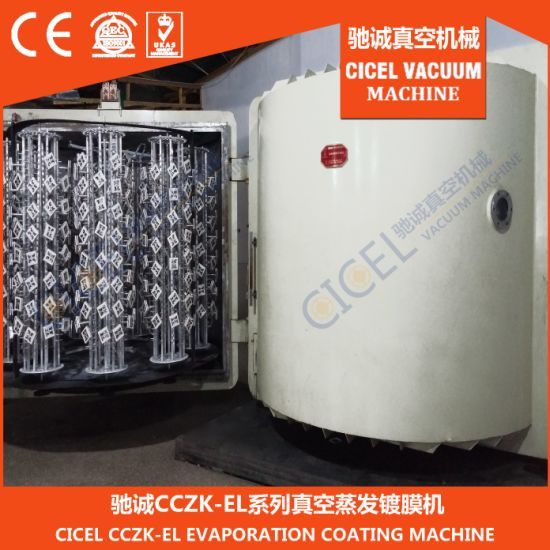 Cczk-900 Vertical Shoe Heel Vacuum Evaporation Coating Machine pictures & photos