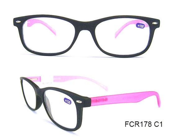 57789107036 China Trendy and Plastic Italy Design Reading Glasses - China ...