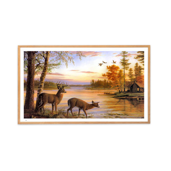 22 26 32 43 49 55 65 75 Inch Pictures Frame / Gallery Photo Frame for Art Gallery / Exhibition Hall