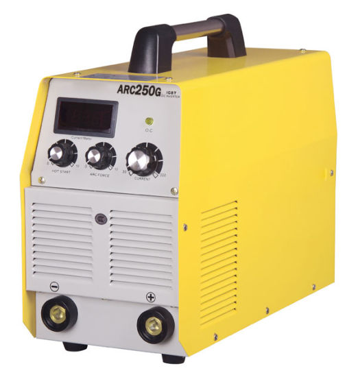 380V/220A, 180 Case, DC Inverter Technology, IGBT Tube Portable MMA/Arc Welding Machine Welder-Arc250g