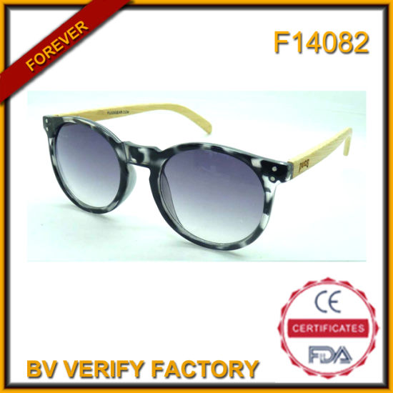 3a13b9d5053e China F14082 Wholesale Cheap Sunglasses with Bamboo Temples - China ...