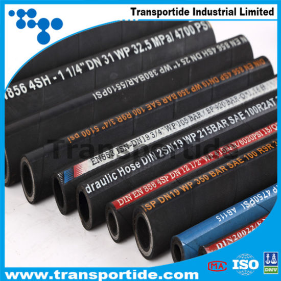 Wrapped Cover Hydraulic Rubber Hose with Cheap Price  pictures & photos