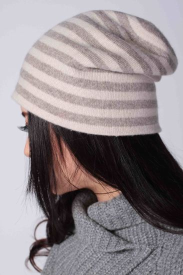 100% Cashmere Striped Hats (1500008076) pictures & photos