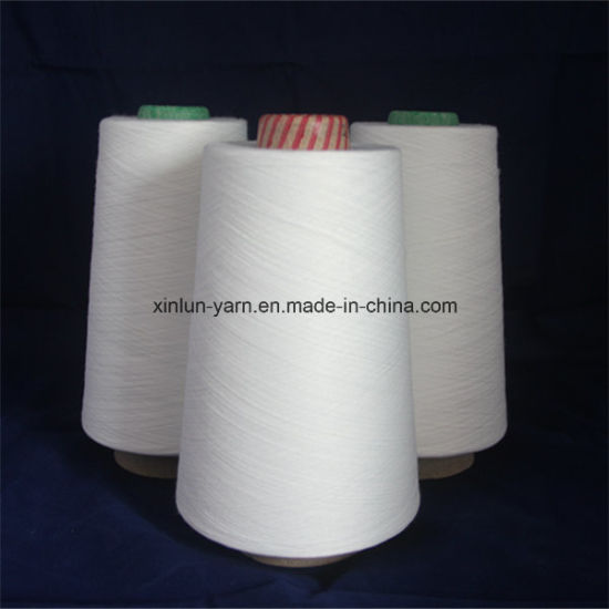 Nice Quality Tc Polyester Cotton Blended Yarn 65/35 Yarn for Knitting